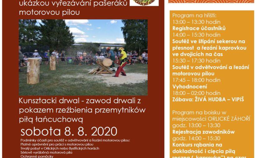 Kunsztacki drwal – zawody drwali