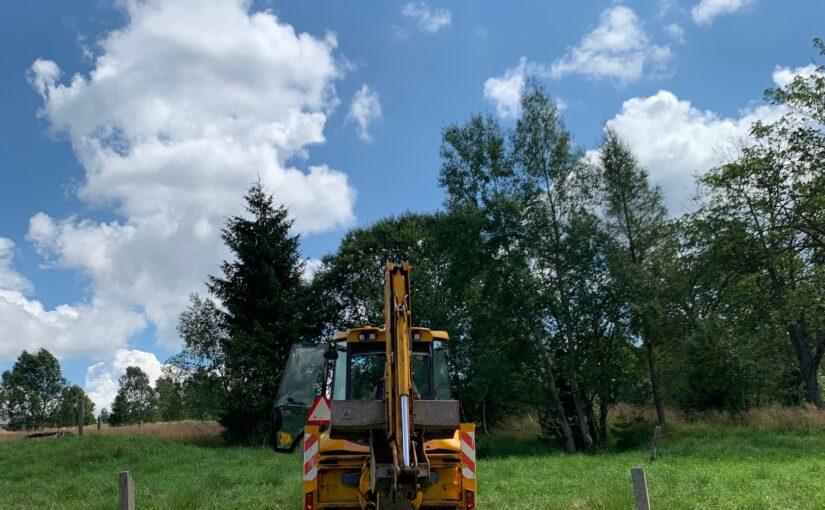 Rozpoczęliśmy prace na przyszłej polanie rekreacyjnej